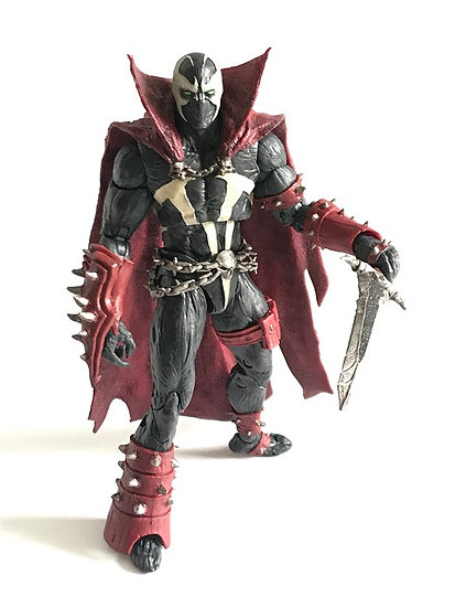 Mortal Kombat Spawn Action Figure With Sword By MdFarlane Toys [Used]