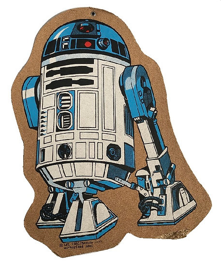 1980 Vintage Star Wars Cork board By Manton Cork