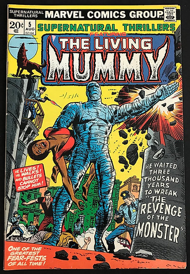 Supernatural Thrillers (Marvel ) #5 VF