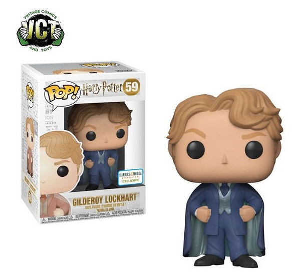 Harry Potter Gilderoy Lockhart 59 Barnes And Noble Exclusive