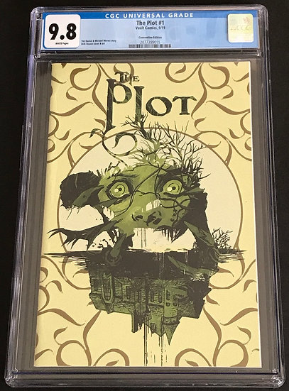 Plot 1 Convention Edition CGC 9.8 White Pages