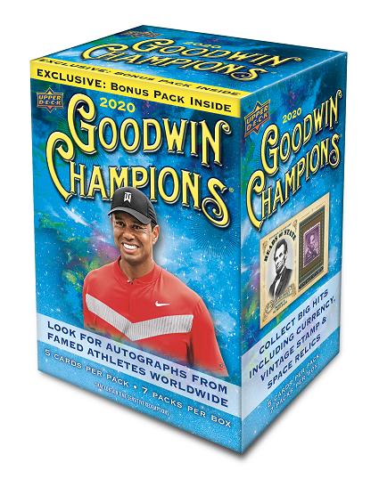 2020 Upper Deck Goodwin Champions Sports Trading Cards Blaster Box