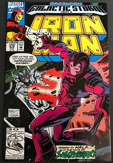 Iron Man (1968 1st Series) #278