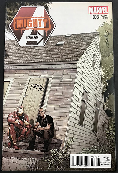 Mighty Avengers (2013) #3 NM- [Limited Eminem Variant Cover]