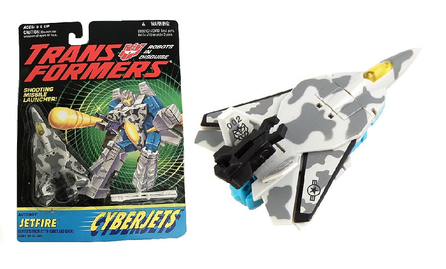 1994 Transformers Crberjets Autobot Jetfire Figure