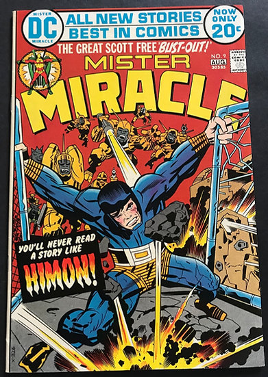 Mister Miracle (1971 1st Series) #9 NM
