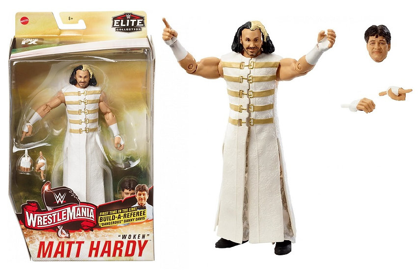 WWE Elite Collection Wrestlmania 'Woken' Matt Hardy Wrestling Figure