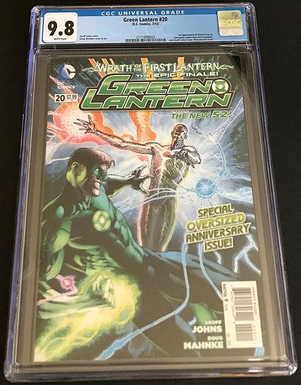 Green Lantern (4th Series DC) #20 CGC 9.8 White Pages