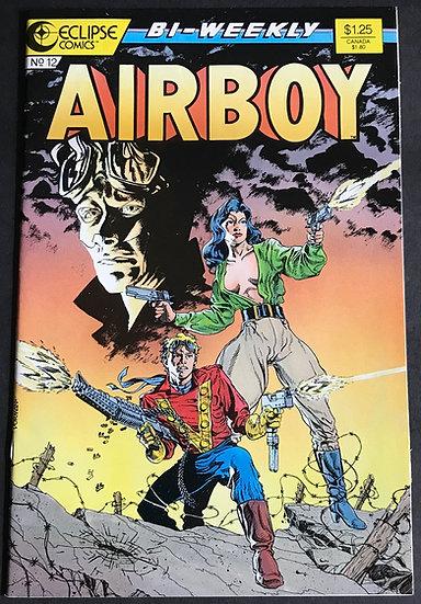 Airboy #12  (Eclipse) NM