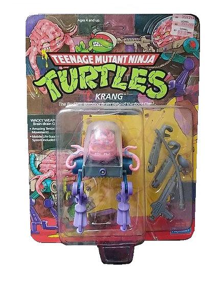 1989 Teenage Mutant Ninja Turtles Krang 14 Back s MOC.