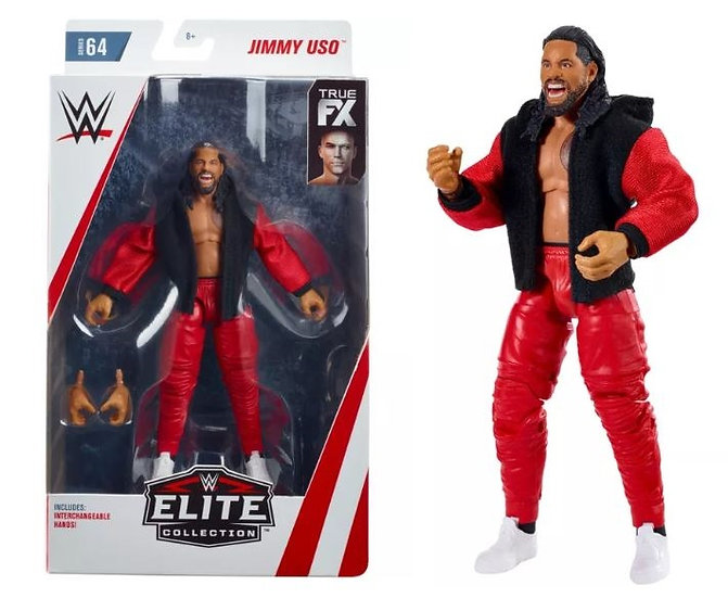 WWE Elite Collection Series 64 Jimmy uso Wrestling Figure