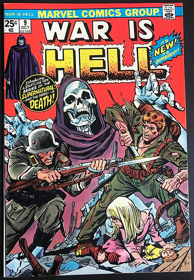 War is Hell (Marvel) #9 NM- [1st Appearance of Death]