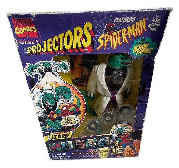 "1995 Spider-Man Projectors 9"" Lizard Figure"