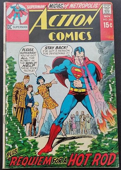 Action Comics #394 VG