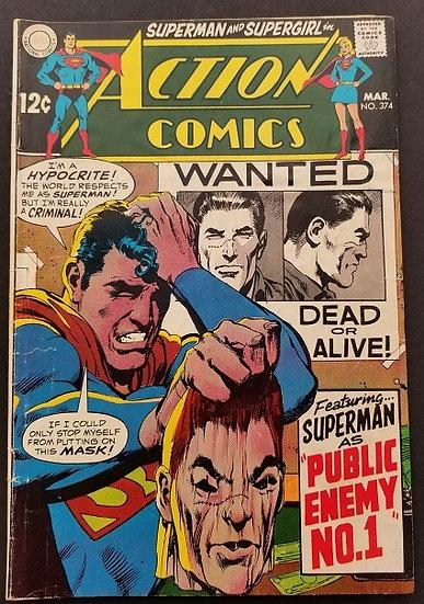 Action Comics #374 VG