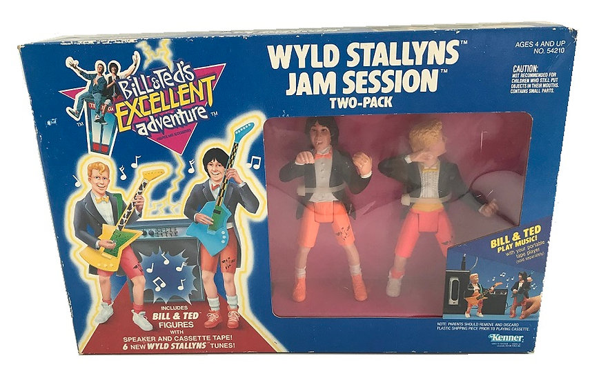 1991Bill&Ted's Excellent Wyld Stallyns Jam Session 2 Pack [New Sealed]