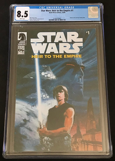 Star Wars Heir To The Empire 1 CGC 8.5 White Pages