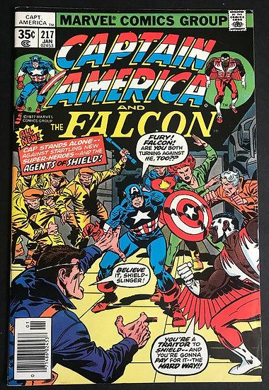 Captain America #217 VF- 1st Appearance of Quasar