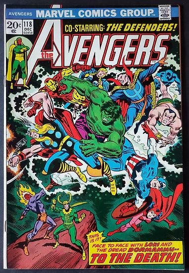 Avengers (Marvel ) #118 NM [Defenders Crossover.]