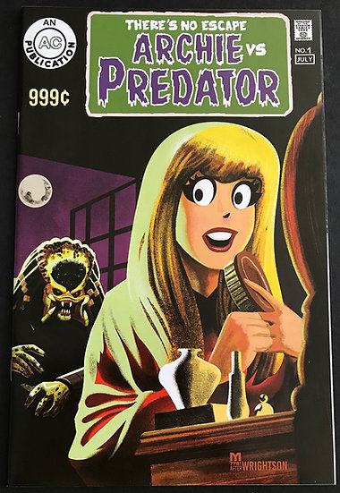 Archie VS Predator 2 #1 NM Swamp Thing Homage Variant Covers