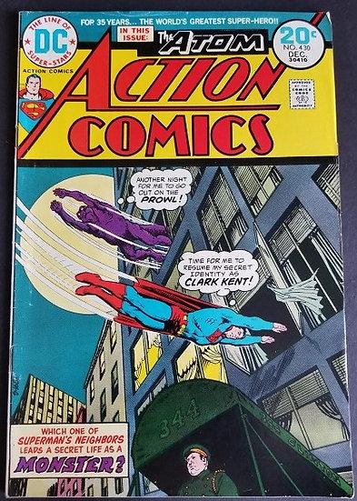 Action Comics (1938 DC) #430 FN+