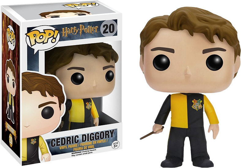 Funko Pop Harry Potter Cedric Diggory 20 Hot Topic Exclusive