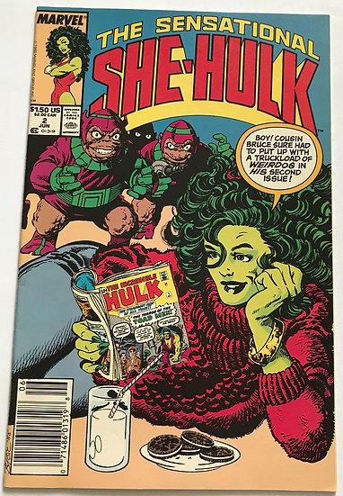 Sensational She-Hulk (Marvel) #2 NM