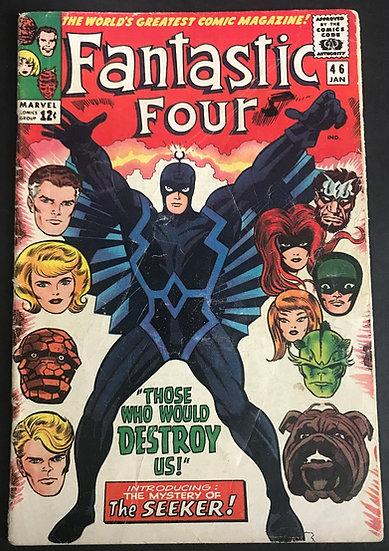 Fantastic Four (1961 1st Series) #46 VG 1st Appearance Of Black Bolt
