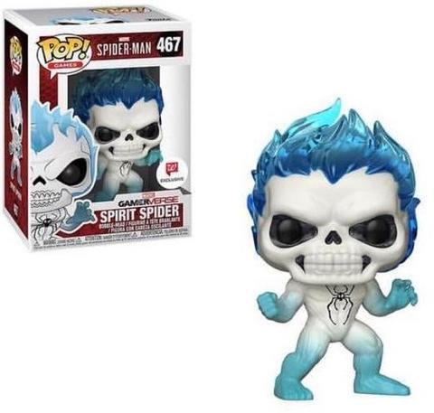 Funko Pop Marvel GameVerse Bobble Head Spider Man Spirit Spider 467 Walgreens