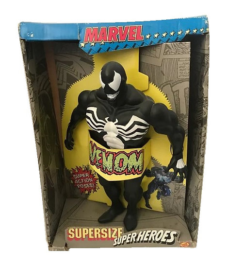 1991 Marvel Supersize Super Heroes 15 inch Venom Action Figure -Toy Biz
