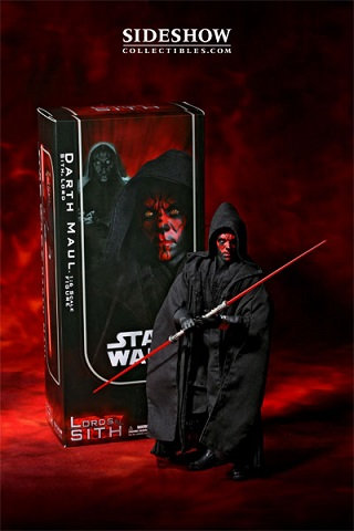 Sideshow Collectibles 1:6 Scale Darth Maul Lords of Sith Star Wars Figure