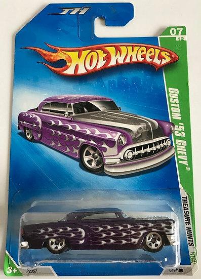 Hot Wheels Treasure Hunts 09 Custom '53 Chevy - 049 / 190 New Sealed