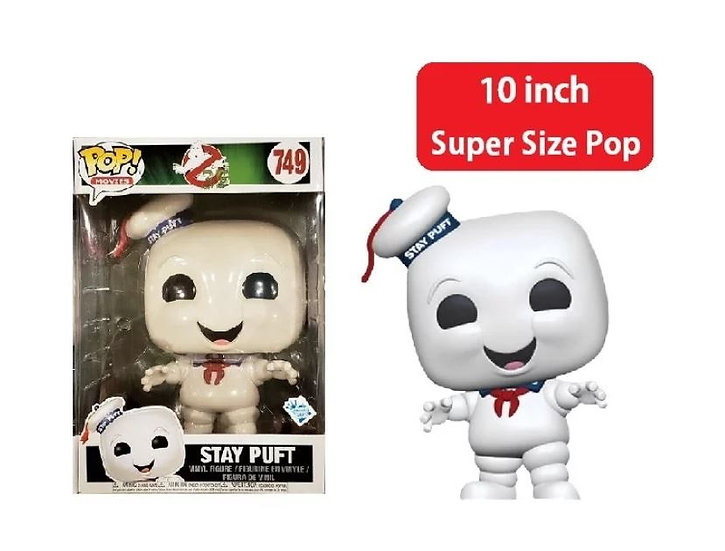 Funko Pop Ghost Busters 10 Inch Stay Puft Game Stop Funko Inside Club Exclusive