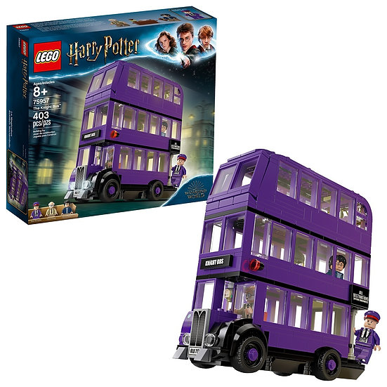 Lego Building Toy Harry Potter The Knight Bus 75957 Triple Decker Toy Bus