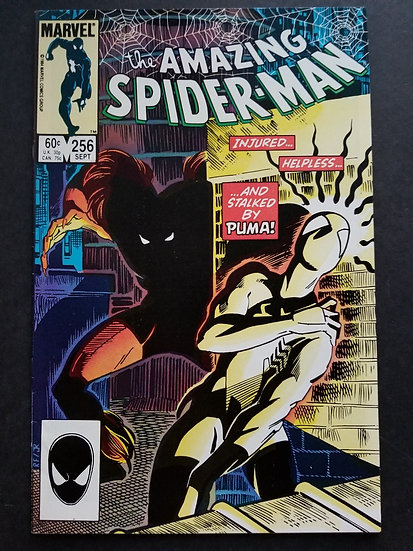 Amazing Spider-Man 256 VF/NM. 1st appearance of Puma.