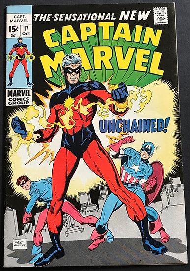Captain Marvel (Marvel) #17 VF+