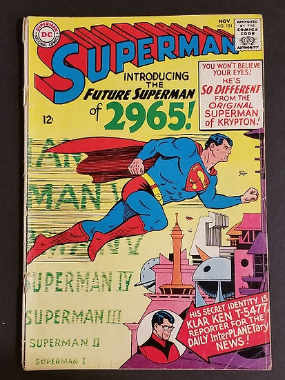 Superman (1939 1st Series) #181 GD