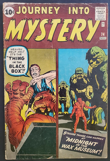 Journey into Mystery (1952) #74 GD/VG