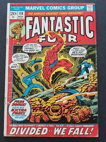 Fantastic Four (1961 1st Series) #128 VG