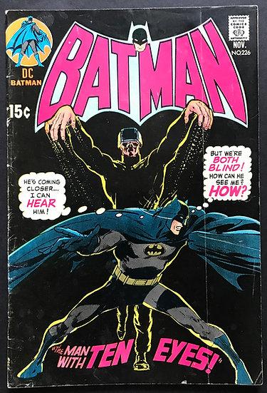 Batman #226 VG-