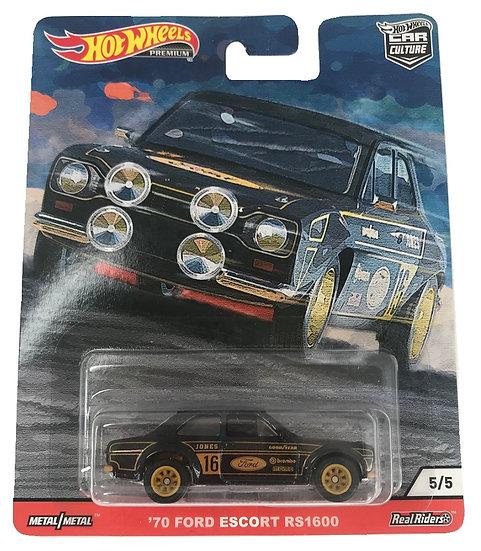 Hot Wheels Premium Car Culture '70 Ford Escort RS1600