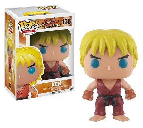 Funko Pop Street Fighter Ken 138