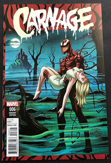 Carnage 6 NM [Rom Lim Variant Cover]