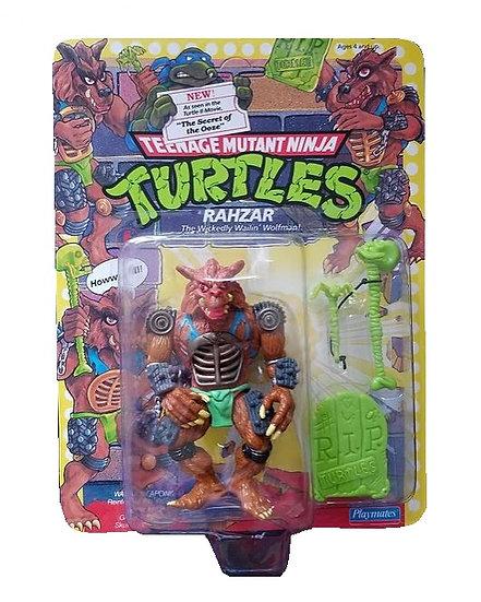 1994 Tennage Mutant Ninja Turtles Rahzar is MOC. Unpunched.