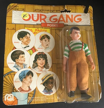 Vintage 1975 Mego Our Gang Porky 6 Inch Action Figure