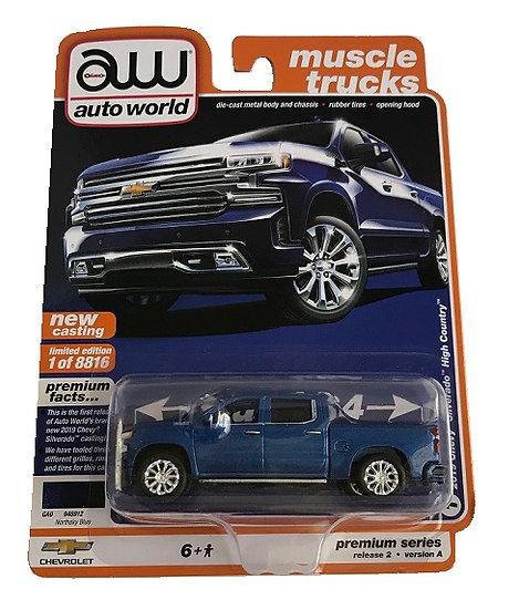 Auto World 2019 Chevy Silverado High Country Truck