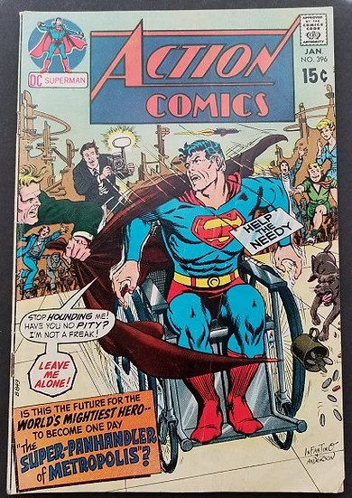 Action Comics (1938 DC) #396 VG