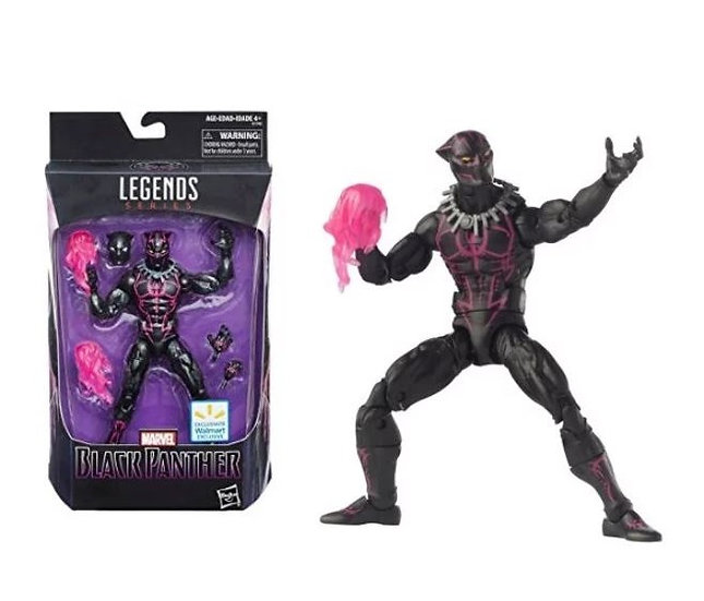 Hasbro Legends Series Marvel Black Panther Walmart Exclusive