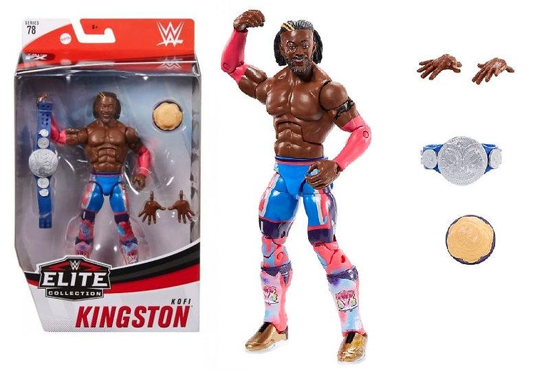 WWE Elite Collection Series 78 Kofi Kingston Wrestling Figure