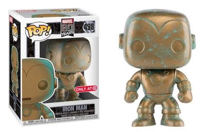 Marvel 80 Years [Patina] Iron Man 498 Target Exclusive